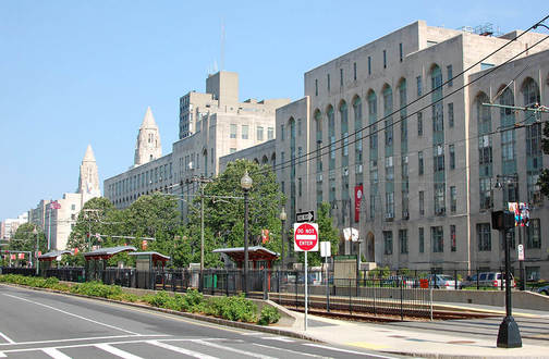 This is a street view of the College of Arts and Sciences at Boston University. This is the school's largest undergraduate school and offers over 20 different departments and programs.