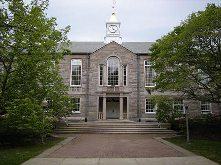 This is Green Hall at the University of Rhode Island. It is home to the University of Rhode Island Financial Aid office.