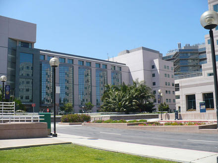 This is the David Geffen School of Medicine at University of California - Los Angeles. It was first founded in 1951 and is considered one of the top schools in the country.