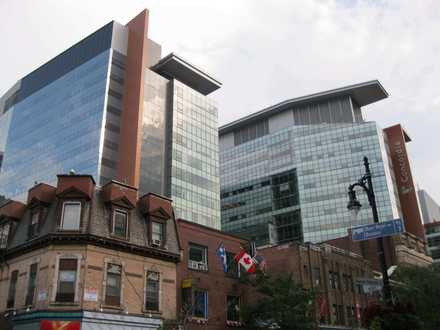 The John Molson School of Business at Concordia University is integrated with the downtown skyline and is directly connected to the subway system.