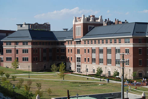 This is Snead Hall at the Virginia Commonwealth University. It is a building for the School of Business and it was opened in January of 2008.