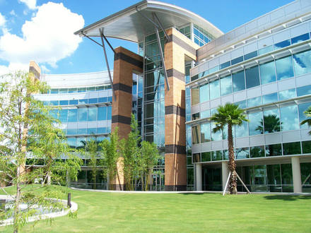 This is the Harris Corporation Engineering Center at University of Central Florida. It houses the College of Engineering and Computer Science.