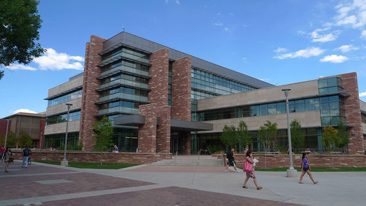 This is the Behavioral Science Building at Colorado State University. It was completed in 2010 and it is the largest high-tech classroom facility on campus.