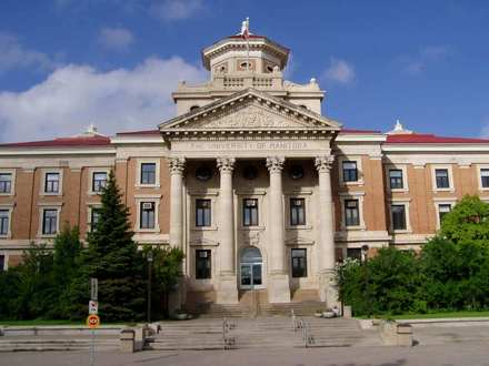This is the University of Manitoba Administration Building. Many of the university's administrative staff, as well as the vice president offices are located here.