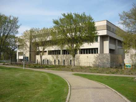 This is the Education Building at the University of Saskatchewan. It holds the offices of the technology support staff as well as the Department of Educational Administration.