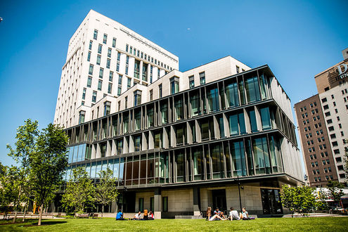 This is the LeBow College of Business at Drexel University. It was established in 1891 and has an alumni network of over 30,000.