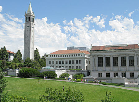 This is the Doe Memorial Library at University of California Berkeley. It was completed in 1911 and is named after Charles Franklin Doe, who donated funds for the construction of the library.